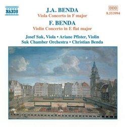 Viola & Violin Concertos