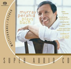 Murray Perahia Plays Bach [SACD]