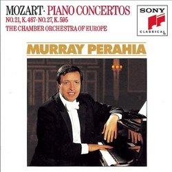 Mozart: Piano Concerti 21 & 27