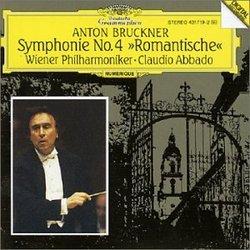 """Anton Bruckner: Symphonie No. 4 """"Romantische"""" - Wiener Philharmoniker / Claudio Abbado"""