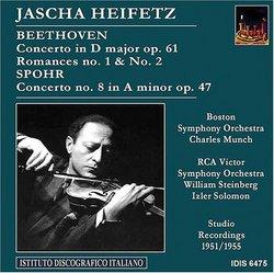 Heifetz plays Beethoven & Spohr