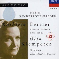 Gustav Mahler: Kindertotenlieder; Brahms: Liebeslieder-Walzer