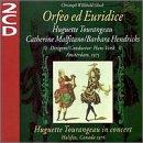 Gluck - Orfeo ed Euridice / Tourangeau, Marfitano, Hendricks, Vonk