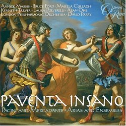 Paventa Insano:  Pacini and Mercadante Arias and Ensembles
