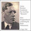 """Bruckner:  Symphony No. 4 in E flat, """"Romantic"""""""