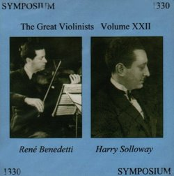The Great Violinists, Vol. 22