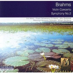 Brahms : Concerto pour violon / Symphonie n° 2