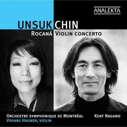 Unsuk Chin: Violin Concerto / Rocaná