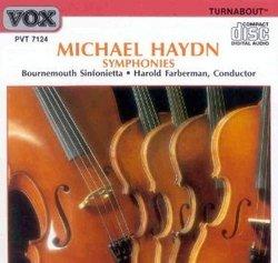 Michael Haydn Symphonies: 30,22, & 41