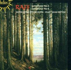 Raff: Symphony No. 3; Symphony No. 4