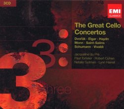 The Greatest Cello Concertos
