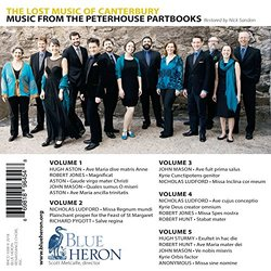 Blue Heron: The Lost Music of Canterbury - Music from the Peterhouse Partbooks