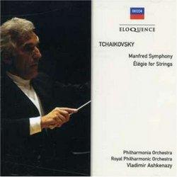 Tchaikovksy: Manfred Sym/Elegie for STR