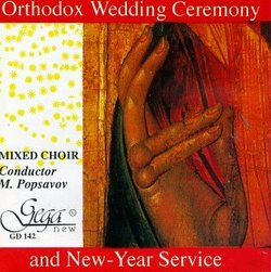Orthodox Wedding Ceremony and New Year Service