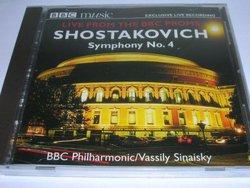Live From the BBC Proms: Shostakovich; Symphony No. 4