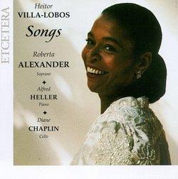 Heitor Villa-Lobos: Songs, Volume 2
