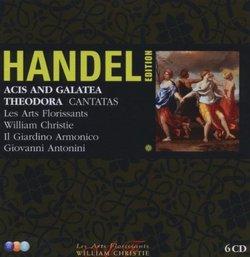 Handel Edition: Acis and Galatea; Theodora; Cantatas [Box Set]