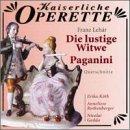 Franz Leh�¡r: Die Lustige Witwe/Paganini