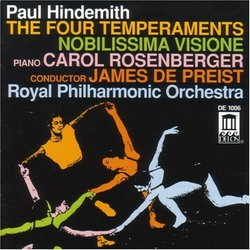 Hindemith: The Four Temperaments/Nobilissima Visione