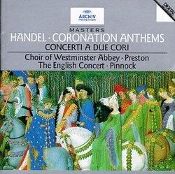 Handel: Coronation Anthems, etc