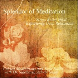 Stress Relief Vol. II Experience Deep Relaxation- Guided Meditations and Yoga Nidra
