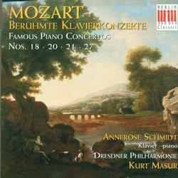 Piano Concertos 18 20 21 27