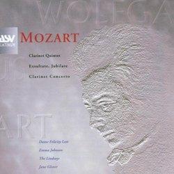 Clarinet Concerto / Exsultate Jubilate