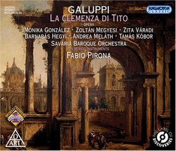 Galuppi: La clemenza di Tito