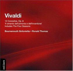 Vivaldi: 12 Concertos, Op. 8 'Il cimento dell'armonica e dell'inventione'