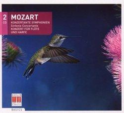 Mozart: Sinfonie Concertante; Konzert für Flöte und Harfe