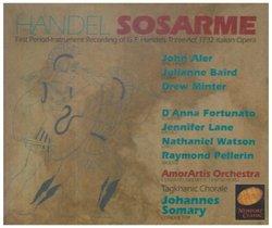 Handel - Sosarme / Aler · Baird · Minter · Lane · Fortunato · Somary