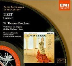 Bizet: Carmen / de Los Angeles, Gedda, Micheau, E. Blanc; Beecham
