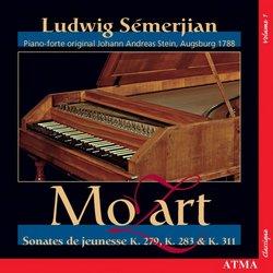 Mozart: Sonates de jeunesse K. 279, 283 & 311