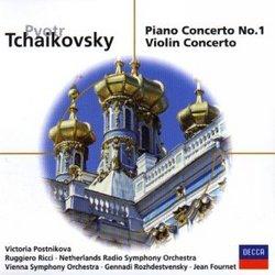 Tchaikovsky: Piano Concerto No. 1 / Violin Concerto
