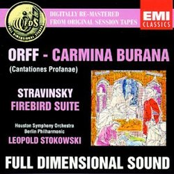 Orff: Carmina Burana / Stravinsky: Firebird Suite