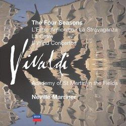 Vivaldi: The Four Seasons; L'Estro Armonico; La Stravaganza; etc. [Box Set]