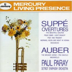 Suppe: Overtures: Light Cavalry, etc.; Auber: Overtures