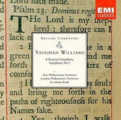Ralph Vaughan Williams: Symphonies Nos. 3 & 5