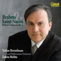 Brahms/Saint-Saens: Piano Concertos