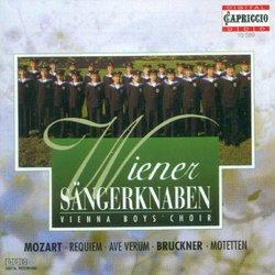 Mozart: Requiem; Ave Verum; Bruckner: Motetten