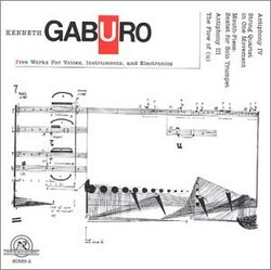 Gaburo: Five Works for Voices, Instruments, and Electronics