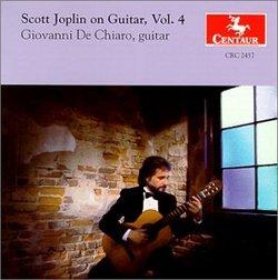 Scott Joplin on Guitar, Vol. 4 / De Chiaro