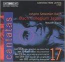 Bach: Cantatas, Vol 17 (BWV 153, 154, 73, 144, 181) /Bach Collegium Japan * Suzuki