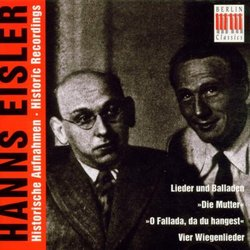 Hanns Eisler: Historic Recordings