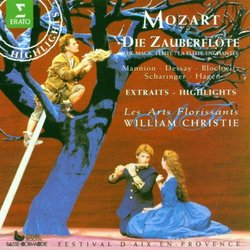 Mozart : Die Zauberflöte / Christie, Les Arts Florissants [Highlights]