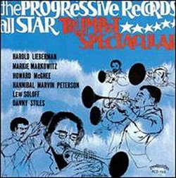 The Two Progressive Records All Star Trumpet Spectaculars
