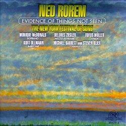 Rorem - Evidence of Things Not Seen / McDonald · Ziegler · Müller · Ollmann · Berrett · Blier