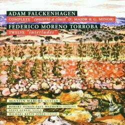 Falckenhagen: Concerto a Cinco; Torroba: Interludes