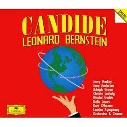 Leonard Bernstein: Candide [June Anderson, Christa Ludwig, Jerry Hadley, Della Jones, Kurt Ollmann, Nicolai Gedda, Adolph Green; London Symphony Orchestra; Leonard Bernstein]