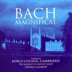 Bach - Magnificat / Gritton · Chance · Bostridge · George · AAM · The Choir of Kings College Cambridge · Cleobury